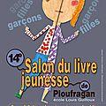 Salon du livre jeunesse de ploufragan - samedi 8 décembre - ploufragan