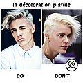 On parle de la mode à la façon de montesquieu : la décoloration platine