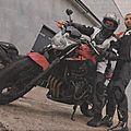 Perfectionnement moto sur le circuit de chambley avec stéphane fégelé