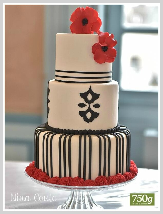 gateau mariage nimes piece montee wedding cake
