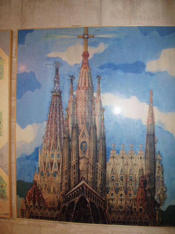 Sagrada Familia Projet définitif
