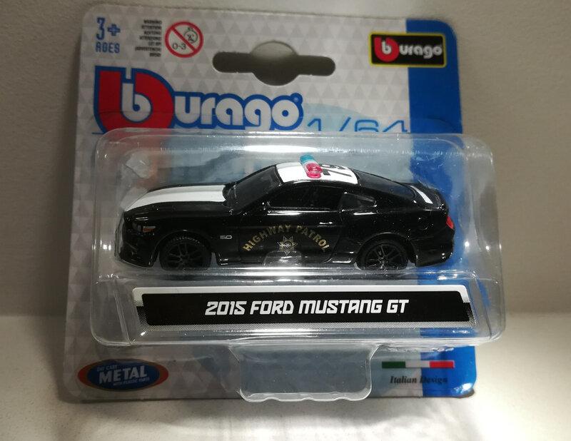 Ford Mustang GT de 2015 (Bburago)