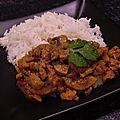Curry de champignons à la crème d'épeautre