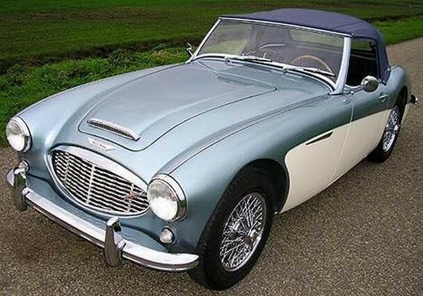 1960 - Austin Healey 3000 BT7 MKI