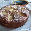 Gâteau aux pommes et à l'huile d'olive