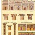 La planche consacrée à l'architecture nabatéenne