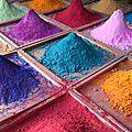 Sable coloré maison