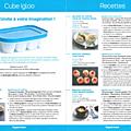 Fiche produit tupperware: cube igloo