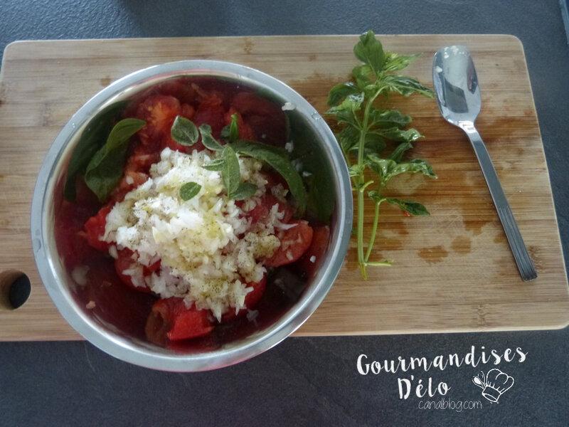 Gaspacho de tomate et mozzarella (3)