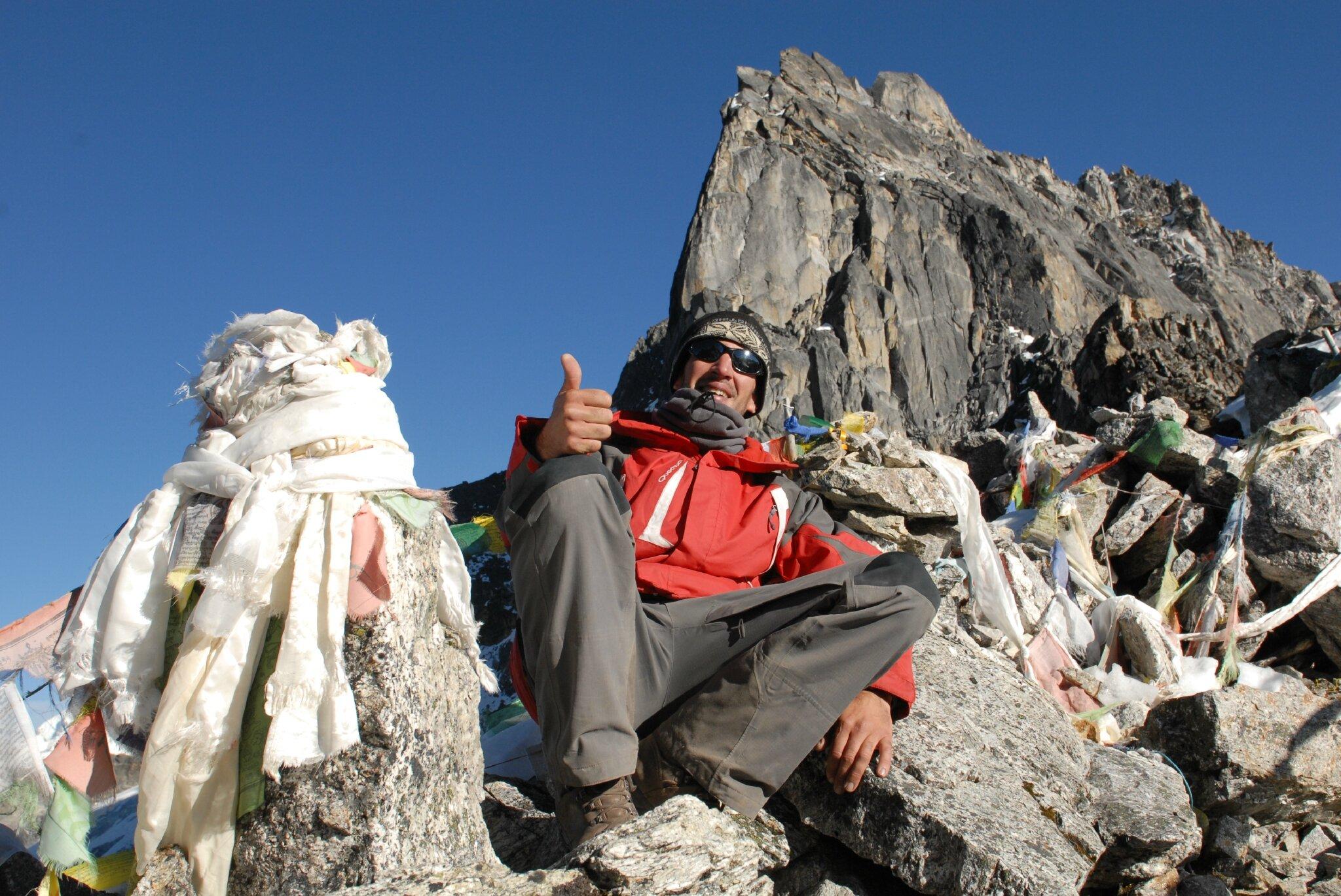 pass de Ganja la 5130m