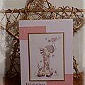 carte naissance Clémence
