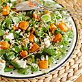 Salade composée à composition variée ...