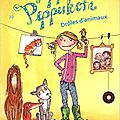 Pippa pepperkorn, drôles d'animaux, de charlotte habersack, chez magnard jeunesse *
