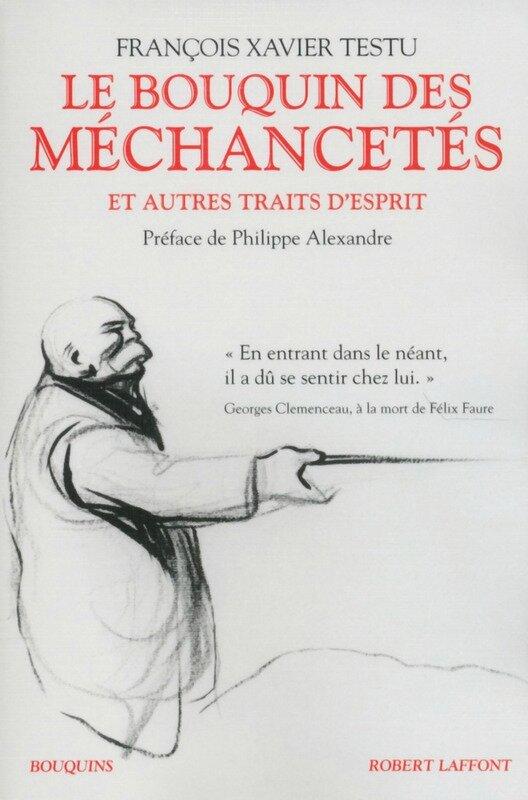 Le bouquin des méchancetés - Françàis-Xavier Testu
