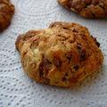 Cookies marbrés de nutella