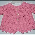 Roselaine178 brassière rose
