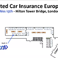 Nexyad booth at connected car insurance 2016 in london