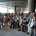 Cosplayeuses diverses