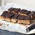 Millionaire shortbreads: sablés au caramel et au chocolat