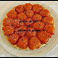 Tarte tatin de tomate