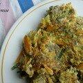 Galette-reste de légumes
