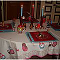Table matriochkas 3 003