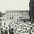 La fête de la jeanne d'arc d'izieux à saint-chamond en 1920
