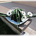 Art floral : aspidistra roulé