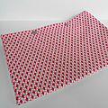Pochette lingerie cube 3D rose