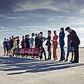 Skyteam fait son show dans le désert de mojave ( photos & video )