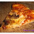 Pizza 4 fromages/champignons