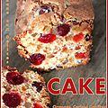 Cake aux fruits confits recette facile