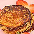 Pan cakes à la banane sans farine à 0 sp