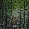 Forêt à l'aube