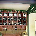 Auvers-sur-Oise - Auberge Ravoux - intérieur armoire à vin
