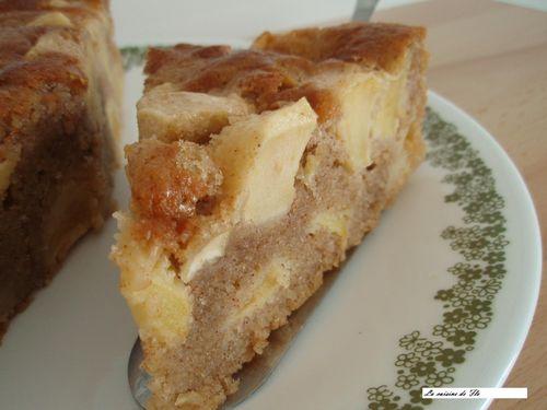 gâteau aux pommes 2