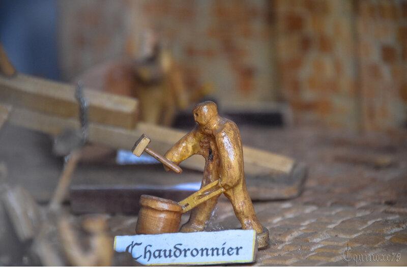 Sculpture bois Foussais Payrè Chaudronnier