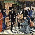 1446 - Rogier_van_der_Weyden_-_Presentation_Miniature,_Chroniques_de_Hainaut_KBR_9242