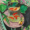 Les poissons rouges de matisse