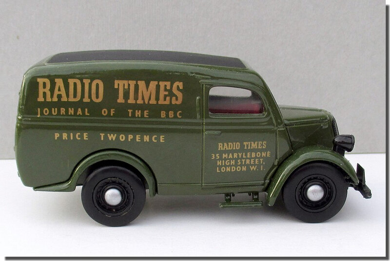 Dinky Matchbox DY-4 Ford E83W Radio Times A 4