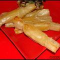 Bonbons croustillants à l'ananas