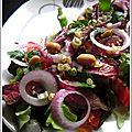 Salade thaïe au boeuf