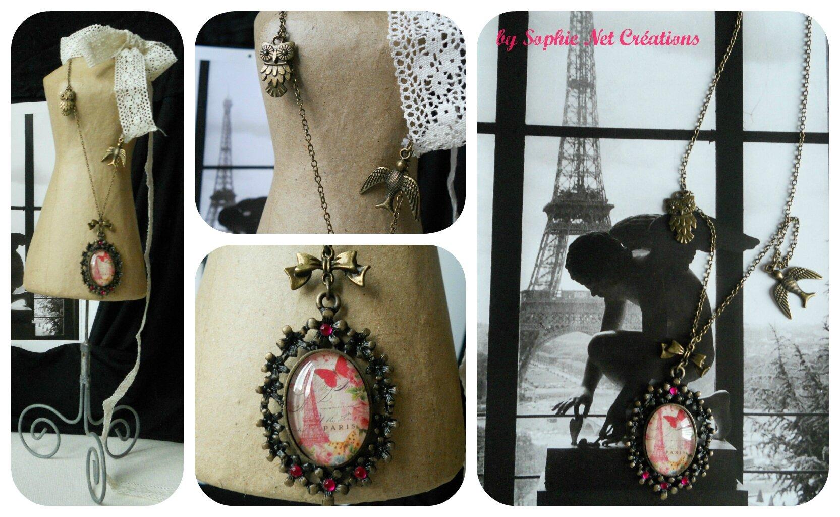 Sautoir vintage Paris