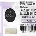 Car seat headrest - mercredi 22 mars 2017 - divan du monde (paris)