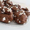 Chouquettes au chocolat