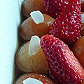 Gulab jamun ou boules aux amandes (dessert indien)