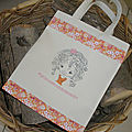 Tote-bags fillette