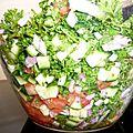 Taboulé au persil (sans cuisson)
