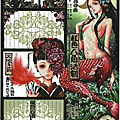 Papier à lettre japonais/japanese writing paper with mermaid - et bientôt la clôture des inscriptions à miss mermaid france!