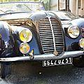 71 ans : retrouvailles et delahaye 1938 / us jeeps (reims / france - 30 aout 2016)